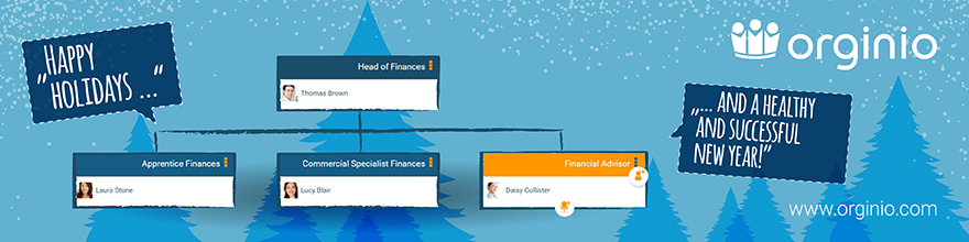 orginio wishes you Happy Holidays and lots of smart org charts
