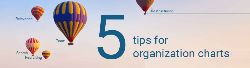 Tips for your online org chart